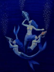 Mermaid Art Paintings